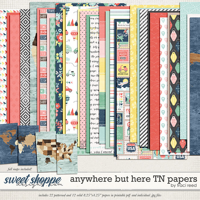Anywhere But Here TN Papers by Traci Reed
