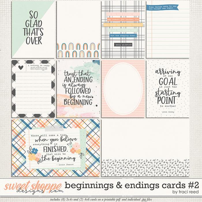 Beginnings & Endings Journal Cards #2 by Traci Reed