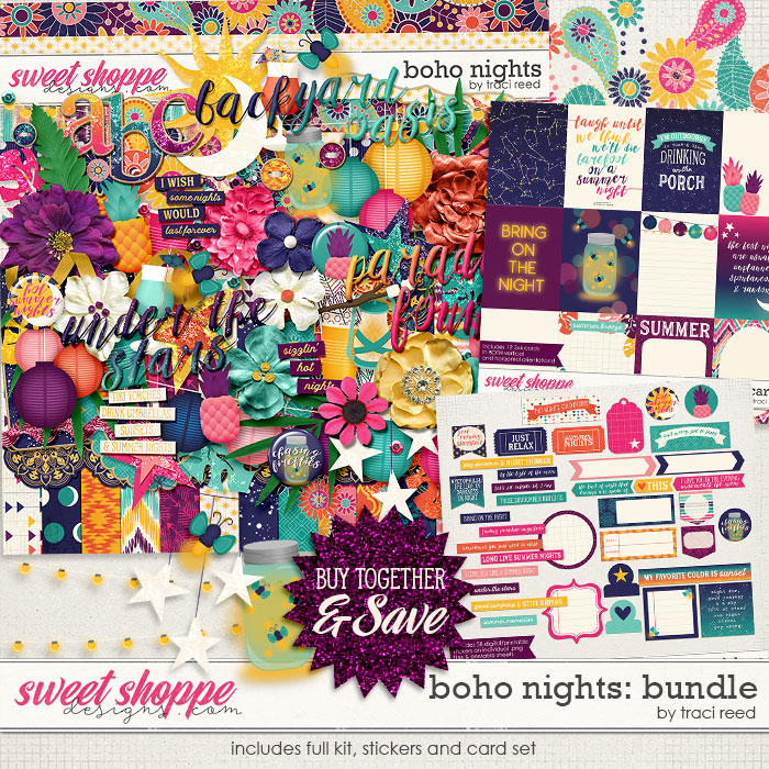 Boho Nights Bundle by Traci Reed