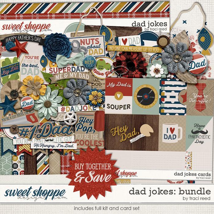 Dad Jokes: Value Bundle by Traci Reed