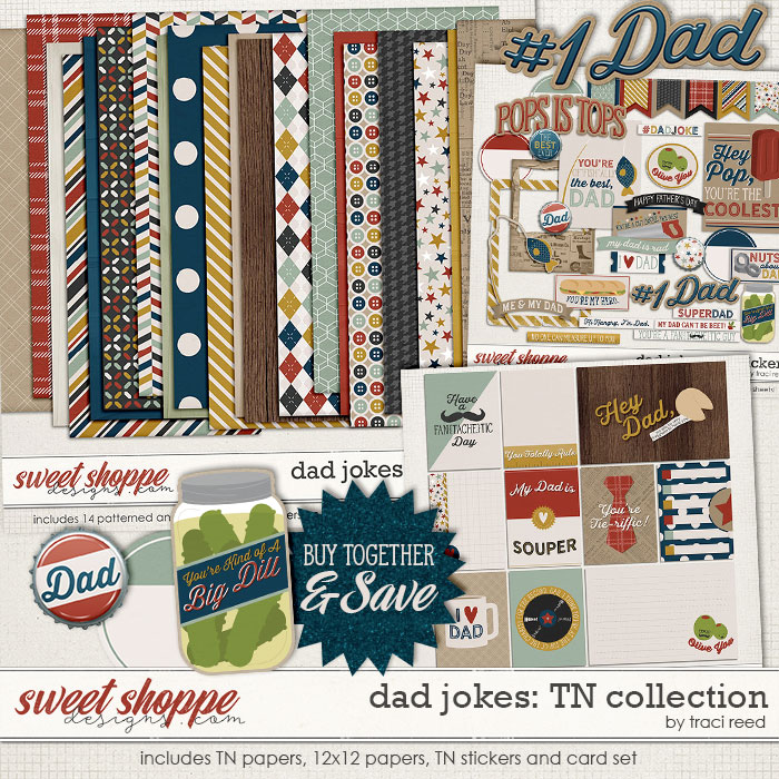 Dad Jokes TN Collection by Traci Reed