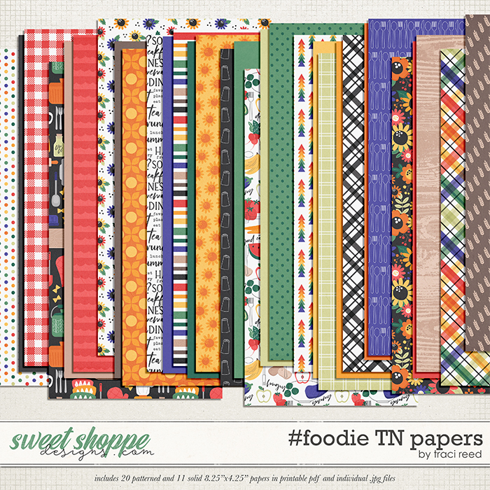 #foodie TN Papers by Traci Reed
