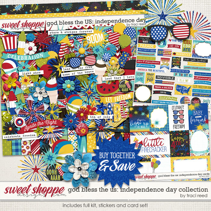 God Bless The US: Independence Day Collection by Traci Reed