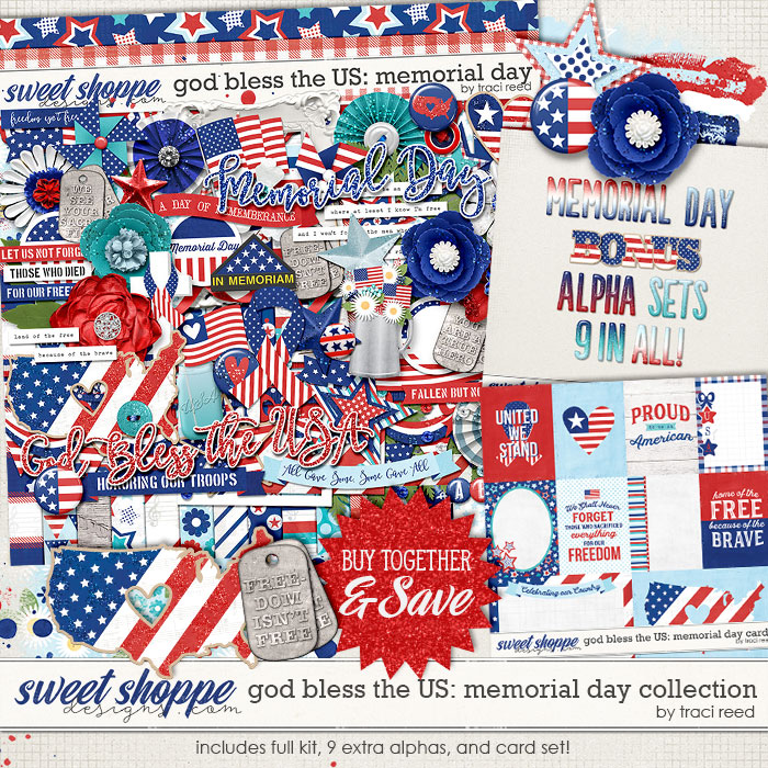 God Bless The US: Memorial Day Collection by Traci Reed