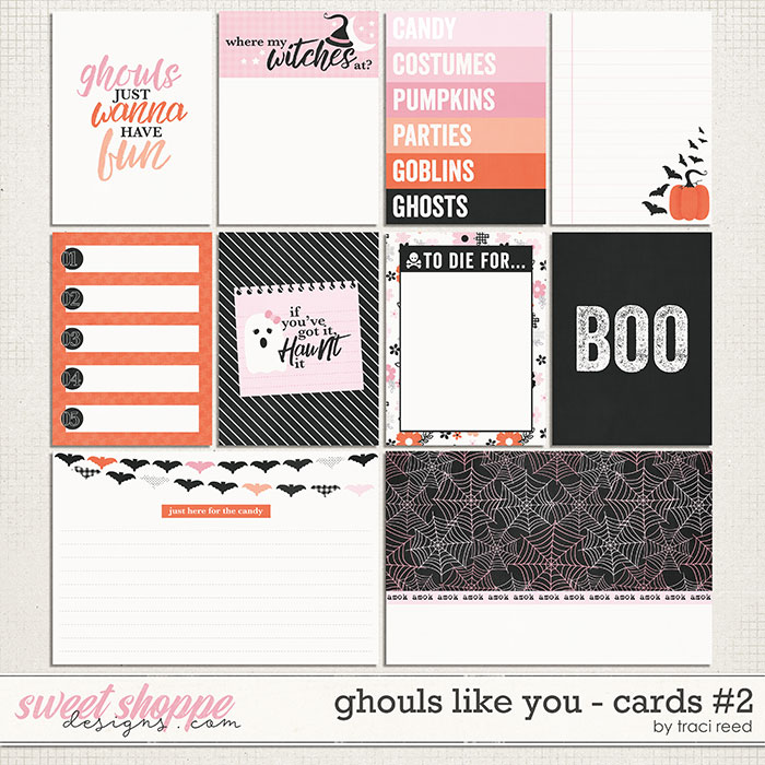 Ghouls Like You: Journal Cards #2 by Traci Reed