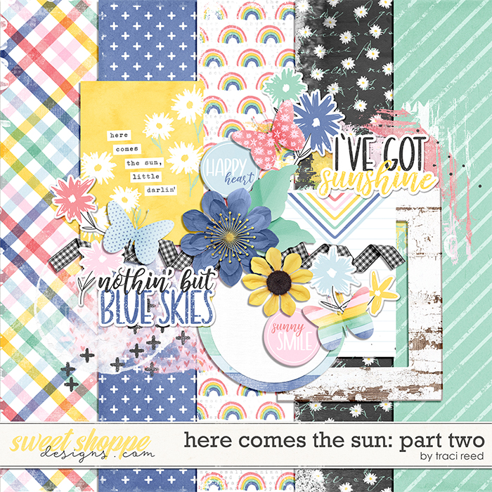 Here Comes The Sun Part Two by Traci Reed