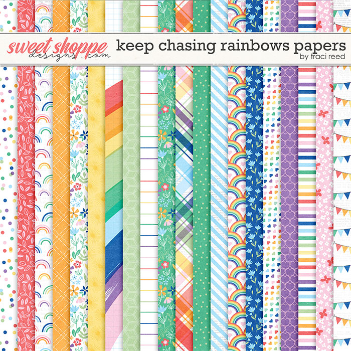 Keep Chasing Rainbows Papers by Traci Reed