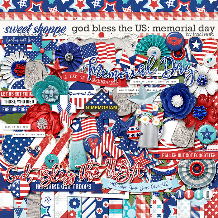 God Bless The US: Memorial Day by Traci Reed