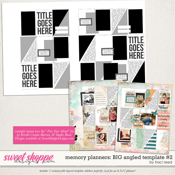 Memory Planners - Big - Angled #2 by Traci Reed