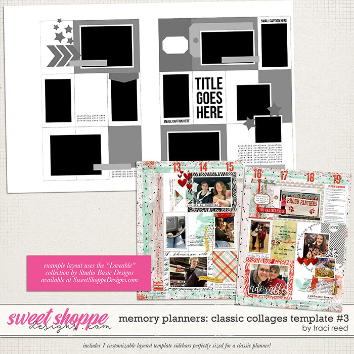 Memory Planners - Classic - Collages #3 by Traci Reed