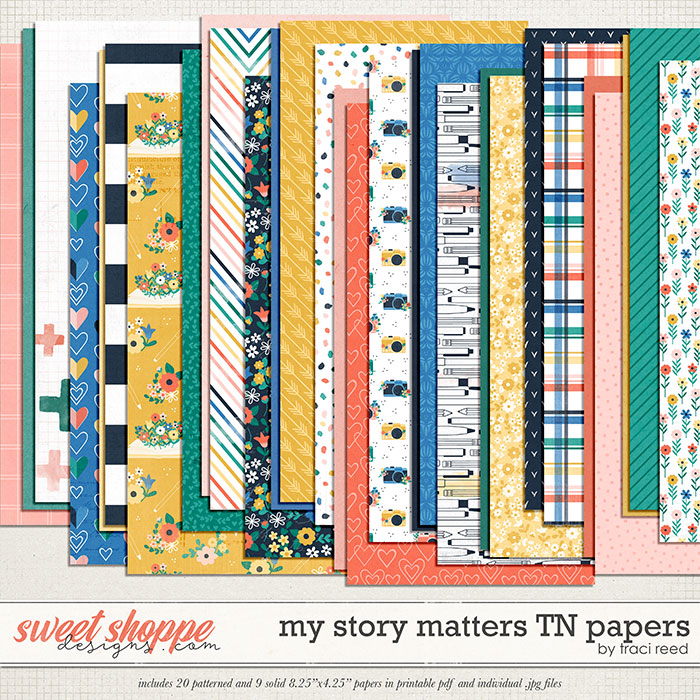 My Story Matters TN Papers by Traci Reed