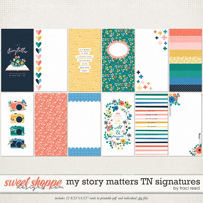 My Story Matters TN Signatures by Traci Reed