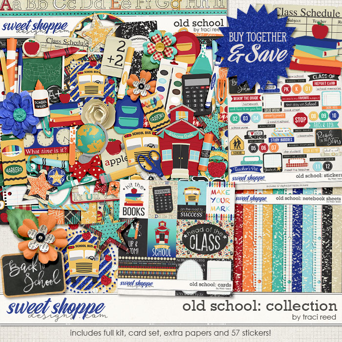 Old School: Collection by Traci Reed