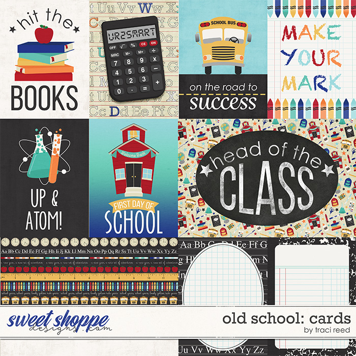Old School: Cards by Traci Reed