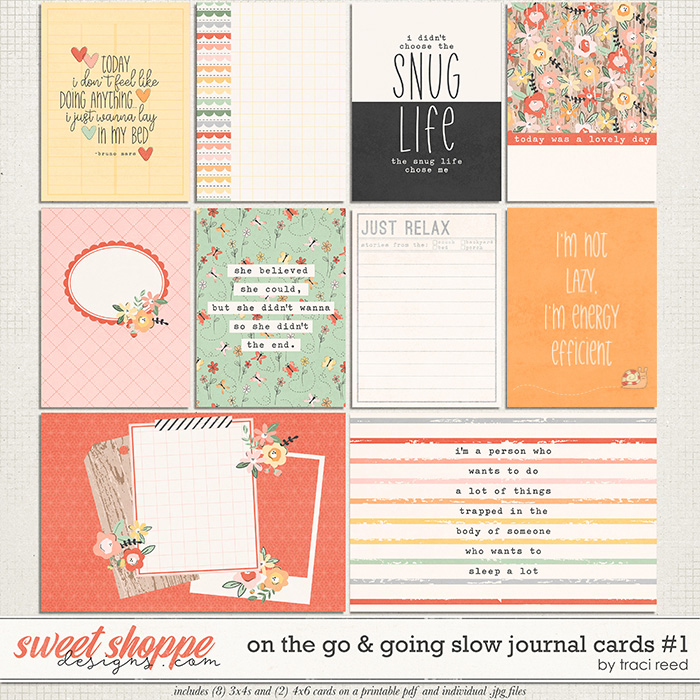 On The Go & Going Slow Cards #1 by Traci Reed
