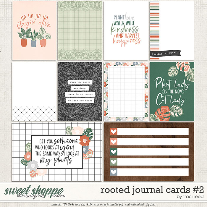 Rooted Cards #2 by Traci Reed