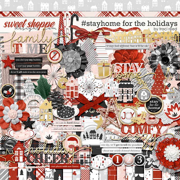 #StayHome for the Holidays by Traci Reed