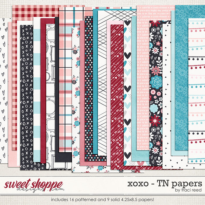 XOXO TN Papers by Traci Reed