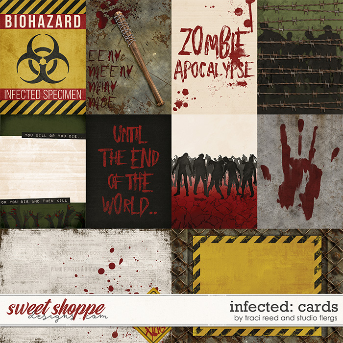 Infected: CARDS by Studio Flergs & Traci Reed