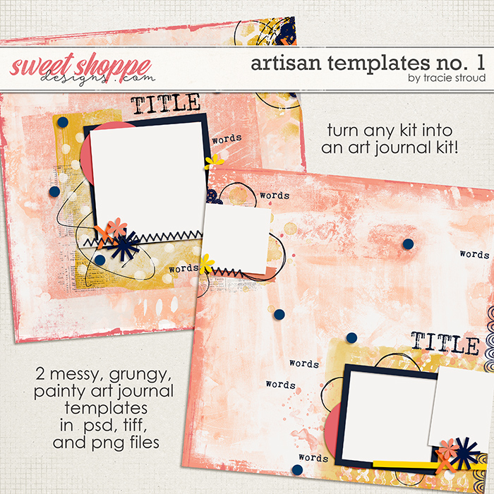 Artisan Templates no. 1 by Tracie Stroud