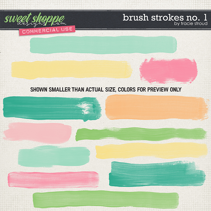CU Brush Strokes no. 1 by Tracie Stroud