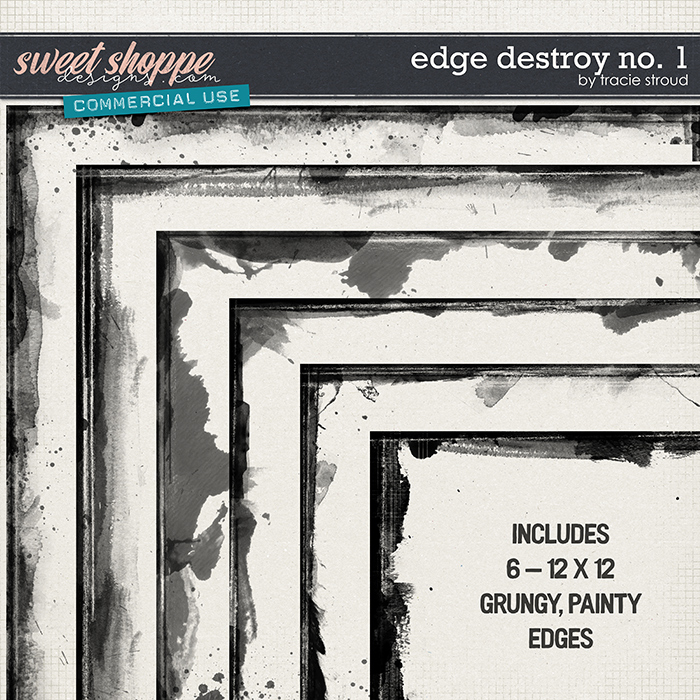 CU Edge Destroy no. 1 by Tracie Stroud