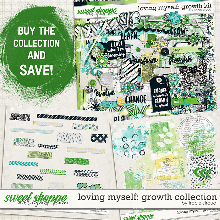 Loving Myself: Growth Collection by Tracie Stroud