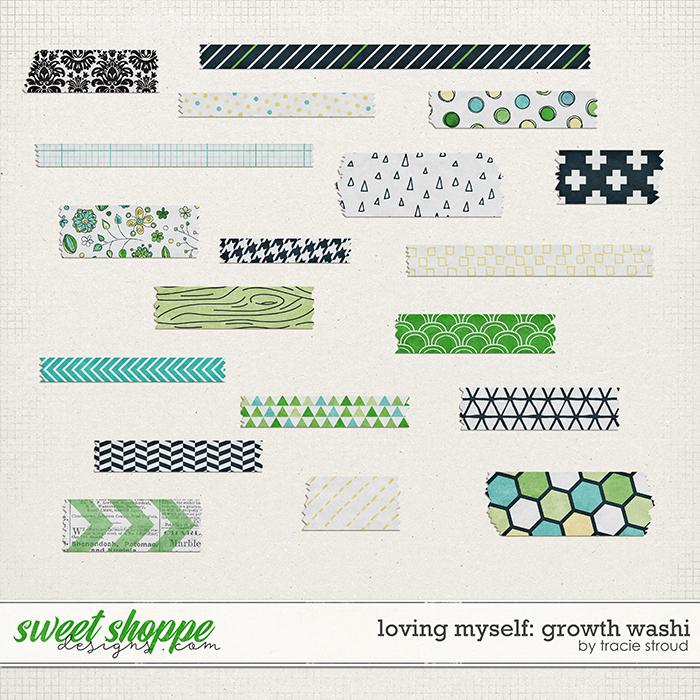 Loving Myself: Growth Washi by Tracie Stroud