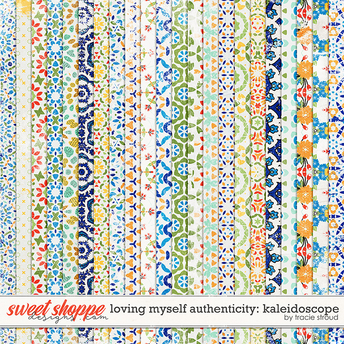Loving Myself: Authenticity Kaleidoscope Papers by Tracie Stroud
