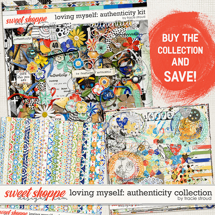 Loving Myself: Authenticity Collection by Tracie Stroud