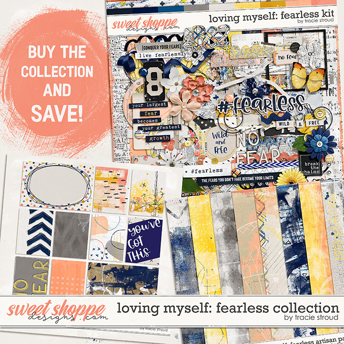 Loving Myself: Fearless Collection by Tracie Stroud