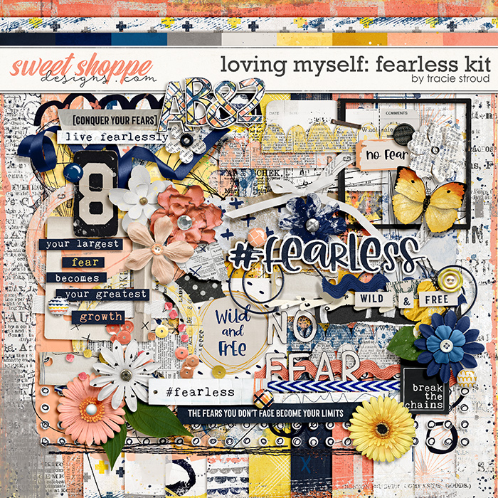 Loving Myself: Fearless Kit by Tracie Stroud
