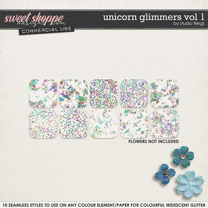 Unicorn Glimmers VOL 1 by Studio Flergs