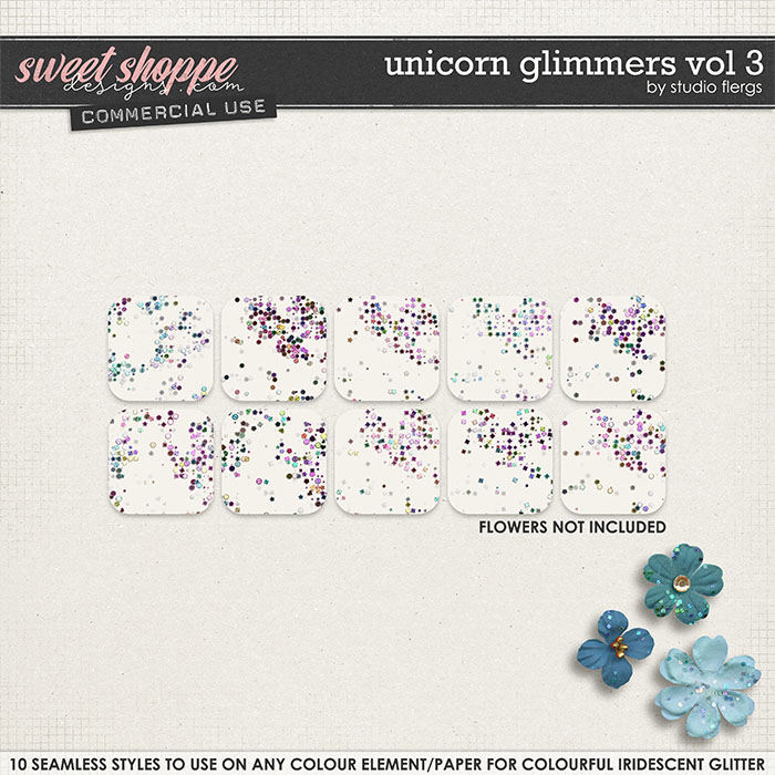 Unicorn Glimmers VOL 3 by Studio Flergs