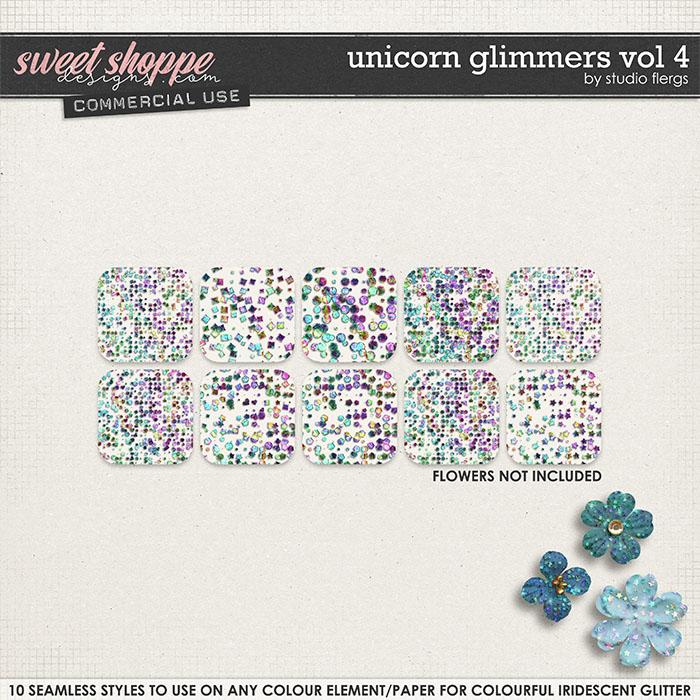 Unicorn Glimmers VOL 4 by Studio Flergs