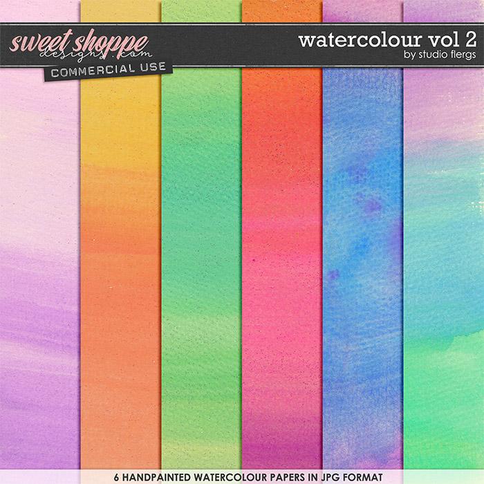 Watercolour VOL 2 by Studio Flergs
