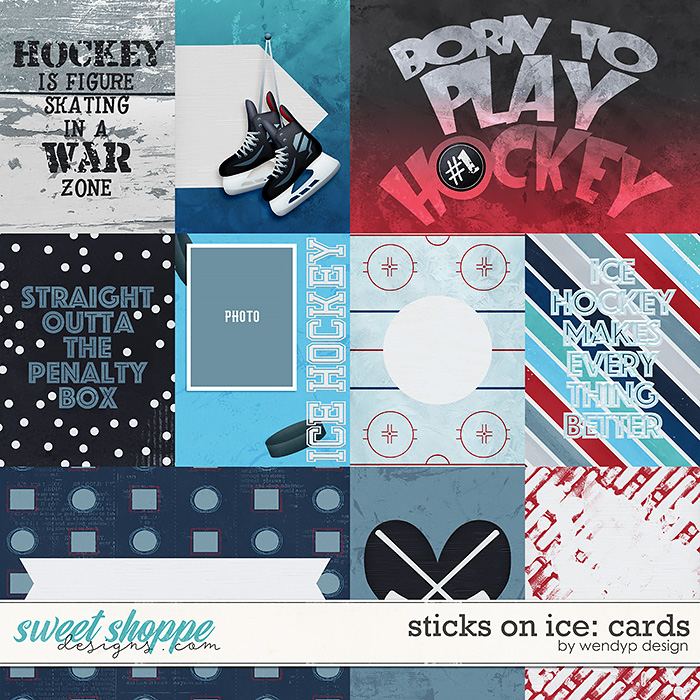 Sticks on ice - Cards by WendyP Designs