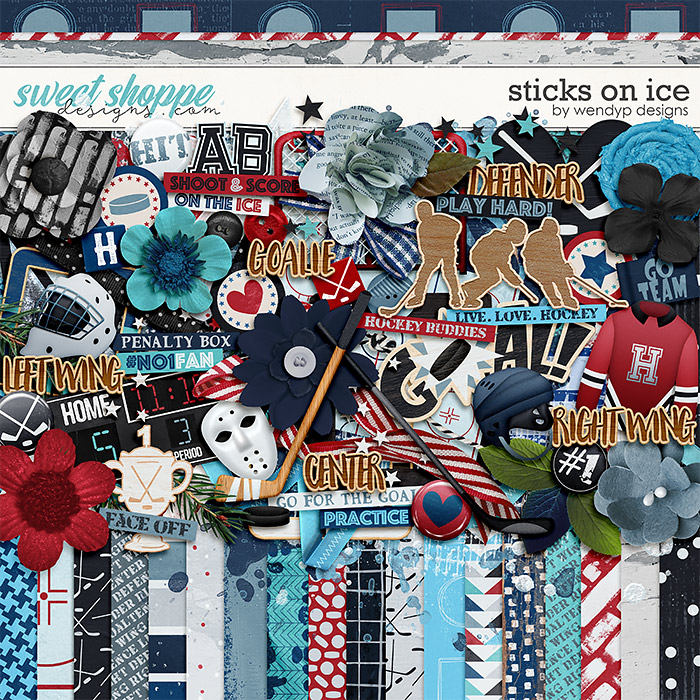 Sticks on ice by WendyP Designs