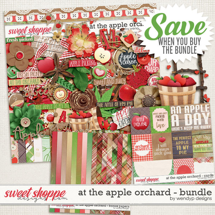 At the apple orchard - bundle by WendyP Designs