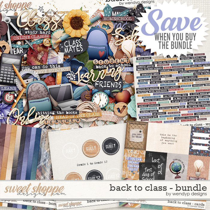 Back to class - Bundle & *FWP* by WendyP designs