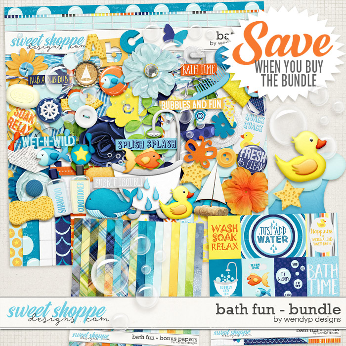 Bath fun - bundle by WendyP Designs
