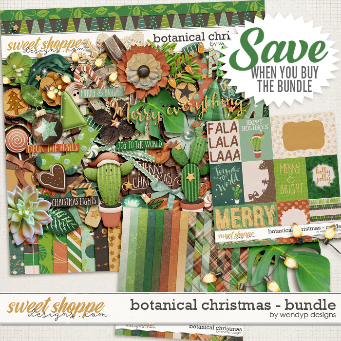 Botanical Christmas - bundle by WendyP Designs