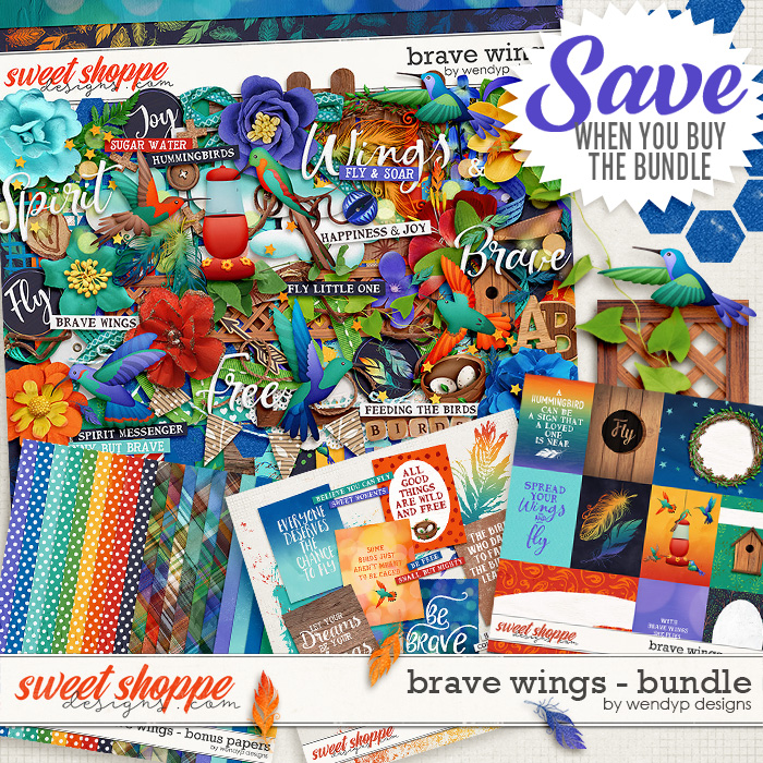 Brave Wings - Bundle by WendyP Designs