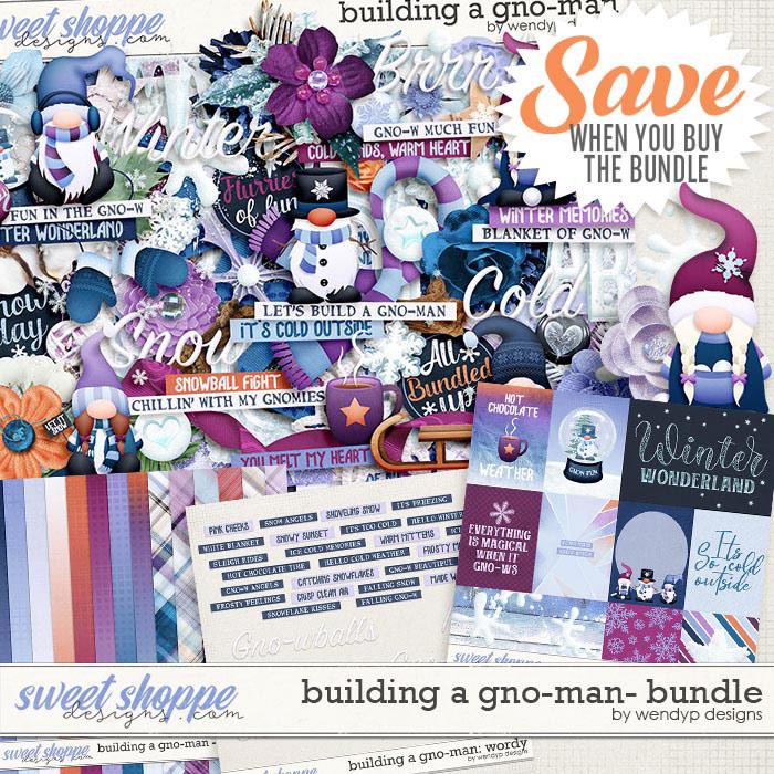 Building a gnome-man: Bundle by WendyP Designs