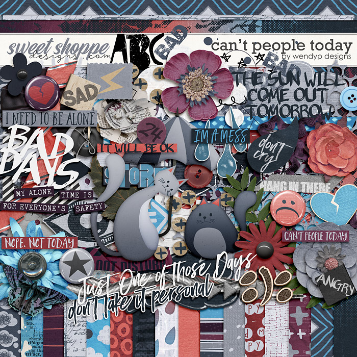 Can't people today by WendyP Designs