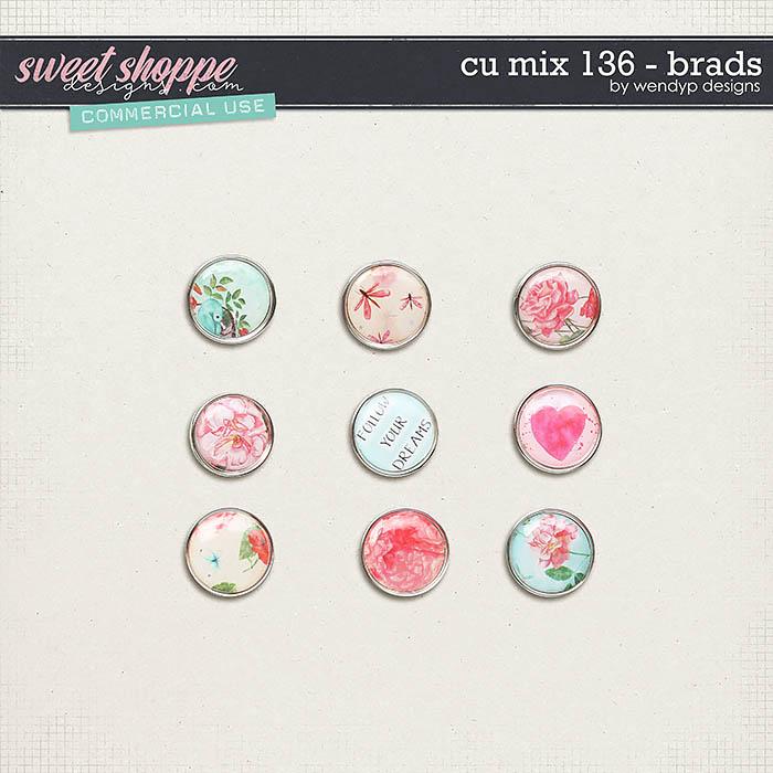 CU Mix 136 - brads by WendyP Designs
