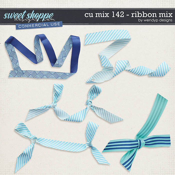 CU Mix 142 - Ribbon mix by WendyP Designs