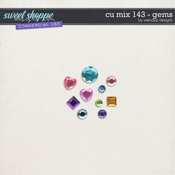 CU Mix 143 - gems by WendyP Designs