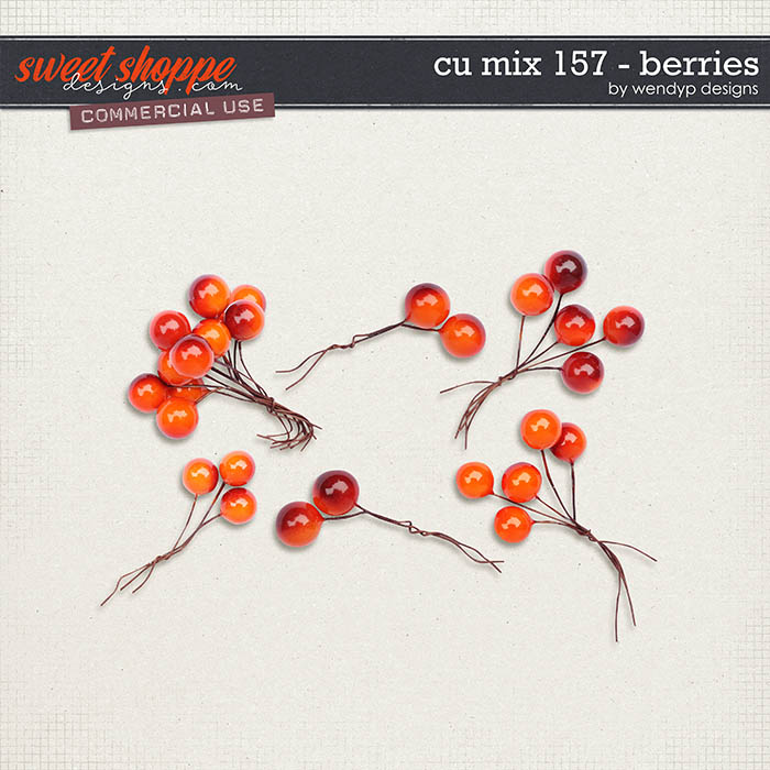 CU Mix 157 - Berries by WendyP Designs