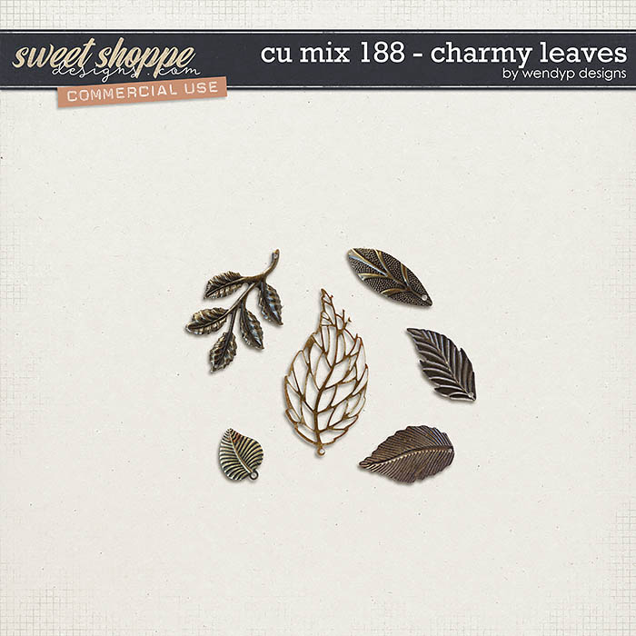CU Mix 188 - Charmy leafs by WendyP Designs